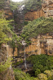 Wentworth Falls Blue Mountains Australia. Photo of Wentworth Falls in Blue Mountains National Park, New South Wales, Australia royalty free stock photography