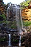Wentworth falls, Blue Mountains National Park, NSW, Australia Stock Photos