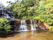 Wentworth falls Royalty Free Stock Images