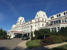 Wentworth hotel and spa at new castle island Stock Photo