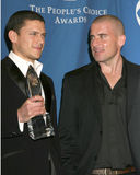 Wentworth Miller,Dominic Purcell Stock Photos
