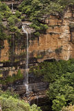 Wentworth Spada Błękitne góry Australia Zdjęcie Royalty Free