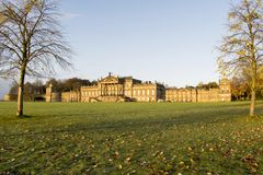 Wentworth Woodhouse Stately Home 17th Nov 2017. Wentworth Woodhouse is a Grade I listed country house in the village of Wentworth, near Rotherham in South Royalty Free Stock Photos
