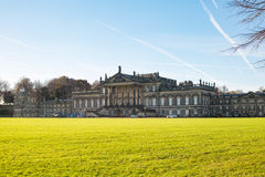 Wentworth Woodhouse Stately home. Wentwort Woodhouse beatween Rotherham and Barnsley in South Yorkshire, received a 7.6 million pound grant by the government in Royalty Free Stock Images