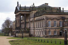 Wentworth Woodhouse Stately home. Wentwort Woodhouse beatween Rotherham and Barnsley in South Yorkshire, received a 7.6 million pound grant by the government in Stock Photos