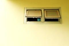 Wentylaci okno Fotografia Stock