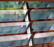Wentylacj okno przedmiota tła fotografia Obrazy Royalty Free