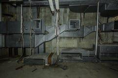 Wentylacja w starym budynku zdjęcie royalty free