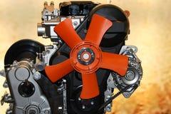 wentylator silnika gazu zdjęcie stock