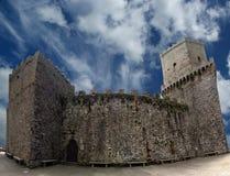 Wenus kasztel przy Erice, Sicily, Włochy Obraz Royalty Free