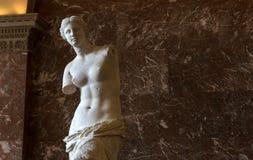 Wenus Milo louvre, Paryż, Francja zdjęcia stock