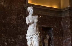 Wenus Milo louvre, Paryż, Francja Zdjęcie Stock