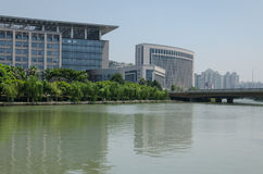 Wenzhou city government scenery Stock Images
