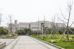 The Wenzhou museum Stock Photography