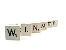 Wer der Sieger ist Lizenzfreies Stockfoto
