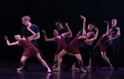 Wer ist abhängig-klassisches Ballett ` Austen-Sammlung ` Lizenzfreie Stockbilder