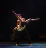 Wer Weal und Elend-modernen Tanz teilen Lizenzfreies Stockbild