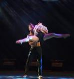 Wer Weal und Elend-modernen Tanz teilen Lizenzfreie Stockbilder