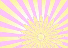 Werbebranchevektorhintergrundzusammenfassungs-Orangencreme vektor abbildung