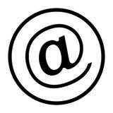 Werbung an der Symbol-Linie Ikone Vektor Abbildung