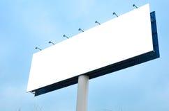 Werbung im Freien stockbild