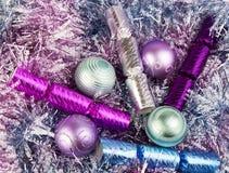 Werden fertig zum Weihnachten Stockfotos