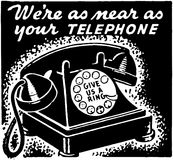 Were As Near As Your Telephone Royalty Free Stock Image