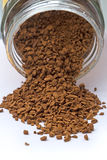 Were scattered granular coffee Stock Images