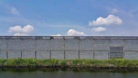 Werehouse industriale in costruzione Fotografie Stock Libere da Diritti