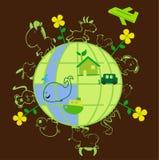 Wereld 3 royalty-vrije illustratie
