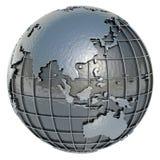 Wereld (Azië Oceanië) Stock Afbeelding