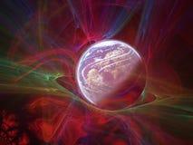 Wereld en hemel royalty-vrije illustratie
