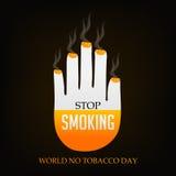 Wereld Geen Tabaksdag Stock Fotografie