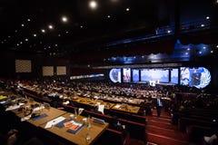 Wereld Humanitaire Top, Istanboel, Turkije, 2016 Royalty-vrije Stock Afbeeldingen