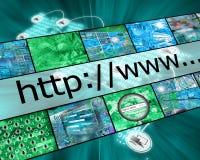 Wereld Internet Stock Foto