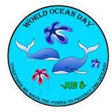 Wereld oceaandag Royalty-vrije Stock Foto's