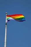 Wereld Pride Flag in Toronto Royalty-vrije Stock Afbeeldingen