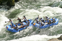 Wereld Rafting Champs Banja Luka 2009 Stock Foto