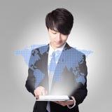 Wereld in uw hand Stock Fotografie