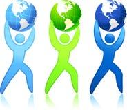 Wereld in uw handen Stock Fotografie
