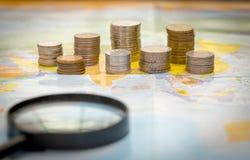 Wereld van geld Royalty-vrije Stock Afbeeldingen