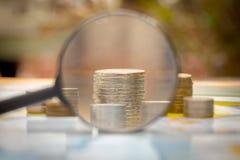 Wereld van geld Royalty-vrije Stock Foto's