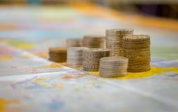 Wereld van geld Stock Foto