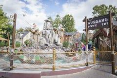 """Wereld van Ierland †de """"Children's - Europa Park in Roest, Duitsland Royalty-vrije Stock Afbeeldingen"""