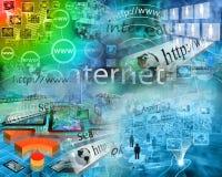 Wereld van Internet Stock Fotografie