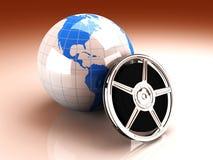 Wereld van Video Stock Fotografie