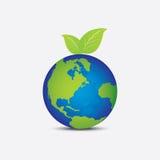 Wereld zoals zoals fruit royalty-vrije illustratie