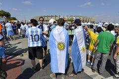 Wereldbeker 2014 - Brazilië Stock Afbeeldingen