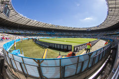 Wereldbeker Brazilië 2014 - Chili van Brazilië 1 X 1 Royalty-vrije Stock Afbeeldingen