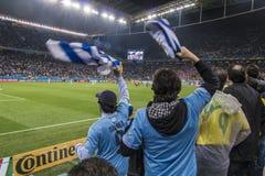 Wereldbeker Brazilië 2014 - Engeland van Uruguay 2 X 1 Stock Foto's